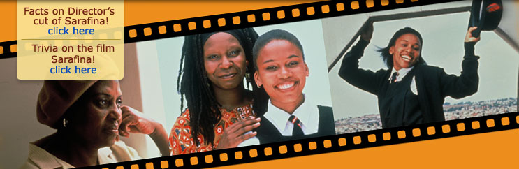 Why the release of the digitally enhanced Director's cut of Sarafina!